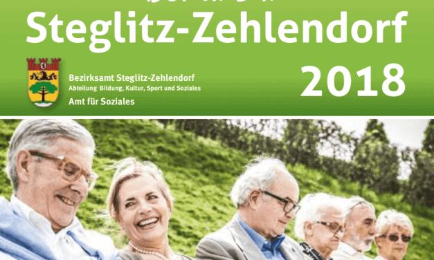 """Broschüre """"Bei uns in Steglitz-Zehlendorf 2018"""" erschienen"""