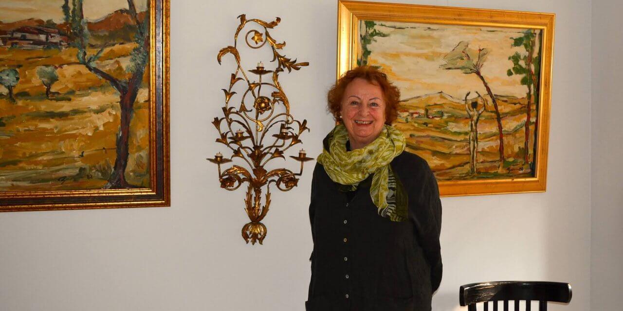 """Zu Gast bei Hanna Becker in ihrer """"Verborgenen Galerie"""" in Lichterfelde"""