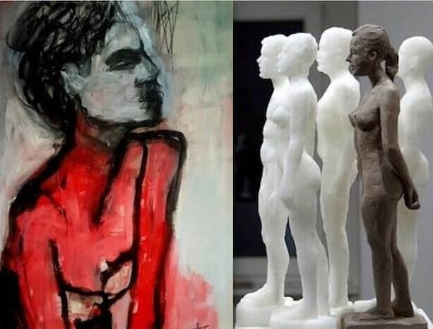 """Ausstellung """"Safrin + Kroll"""" im Gutshaus Steglitz"""