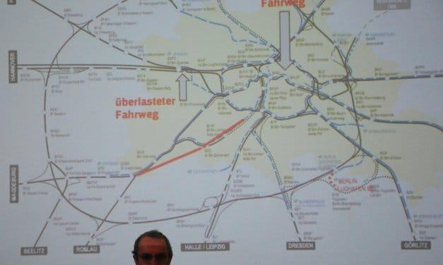 Ganz nah dran an der Stammbahn: Riesiges Interesse am Schienenanschluss in der Region beim Mobilitätsforum in Kleinmachnow