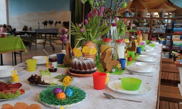 Oster-Brunch für bedürftige Kinder im Steglitzer Schutzengel-Haus – Spender gesucht