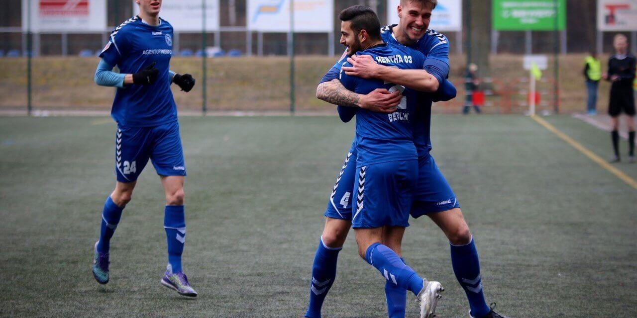 Hertha 03 Zehlendorf: 2:0-Erfolg in Torgelow – Mentes und Haritos treffen