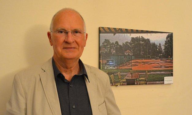 Ausstellung zeigt Bilder vom Tennis-Club Grün-Weiß Nikolassee