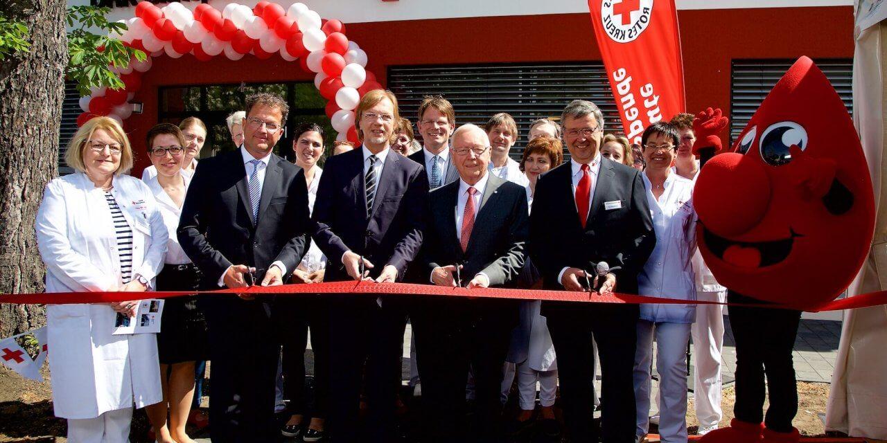 Institut für Blutspende am Hindenburgdamm in Lichterfelde eröffnet