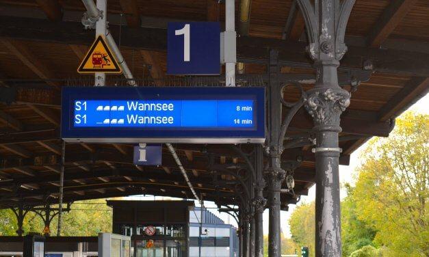 S1: Eine Woche lang keine S-Bahn zwischen Wannsee und Anhalter Bahnhof