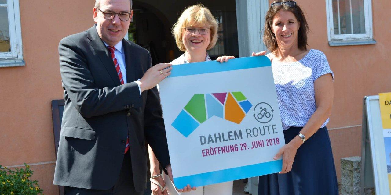 Mit dem Rad die schönsten Ecken Zehlendorfs erkunden – Dahlem Route eröffnet