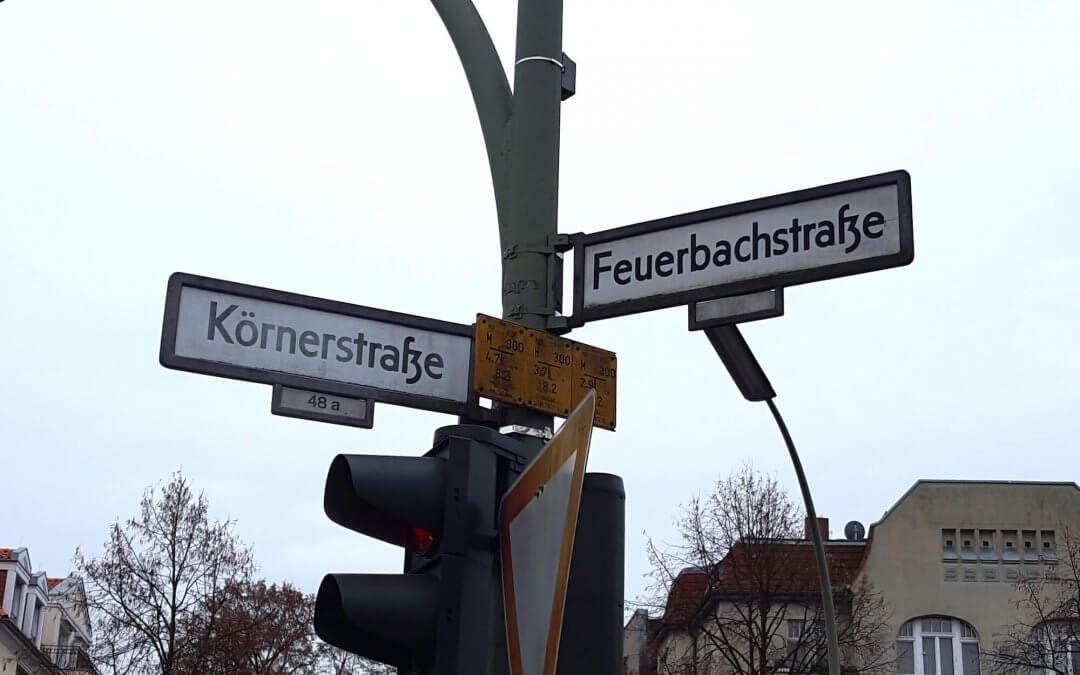 Straßenbauarbeiten: Ab Mitte Juli wird Feuerbachstraße zur Einbahnstraße