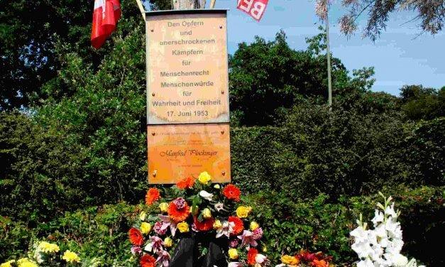 Steglitz-Zehlendorf erinnert an den 17. Juni 1953