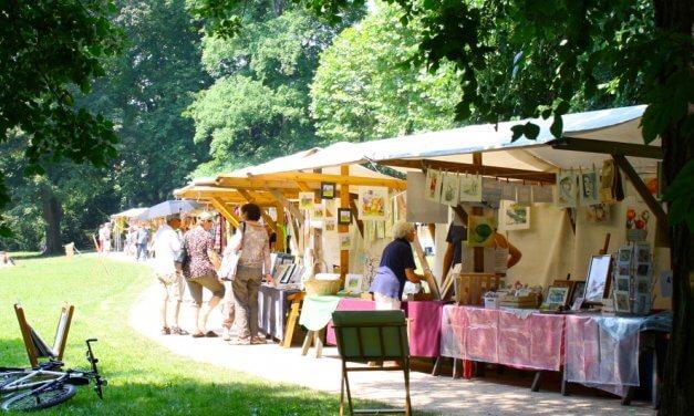 Von Malerei bis Nespresso-Kapseln-Schmuck: Kunstmarkt der Generationen in Lichterfelde geht in die fünfte Runde