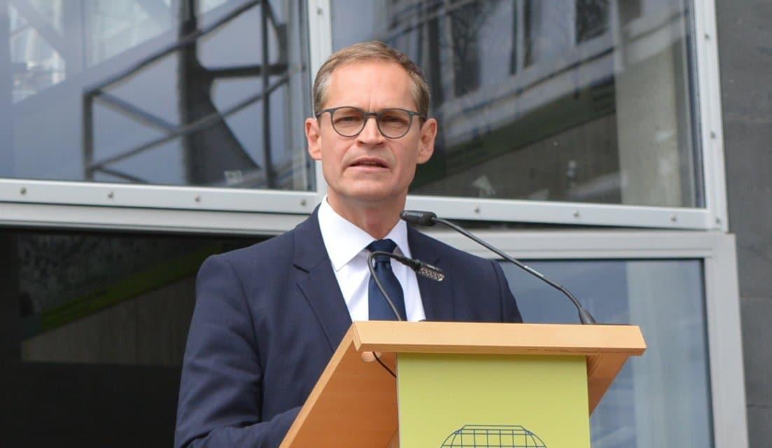 Berlins Regierender Bürgermeister zu Gast in Zehlendorf