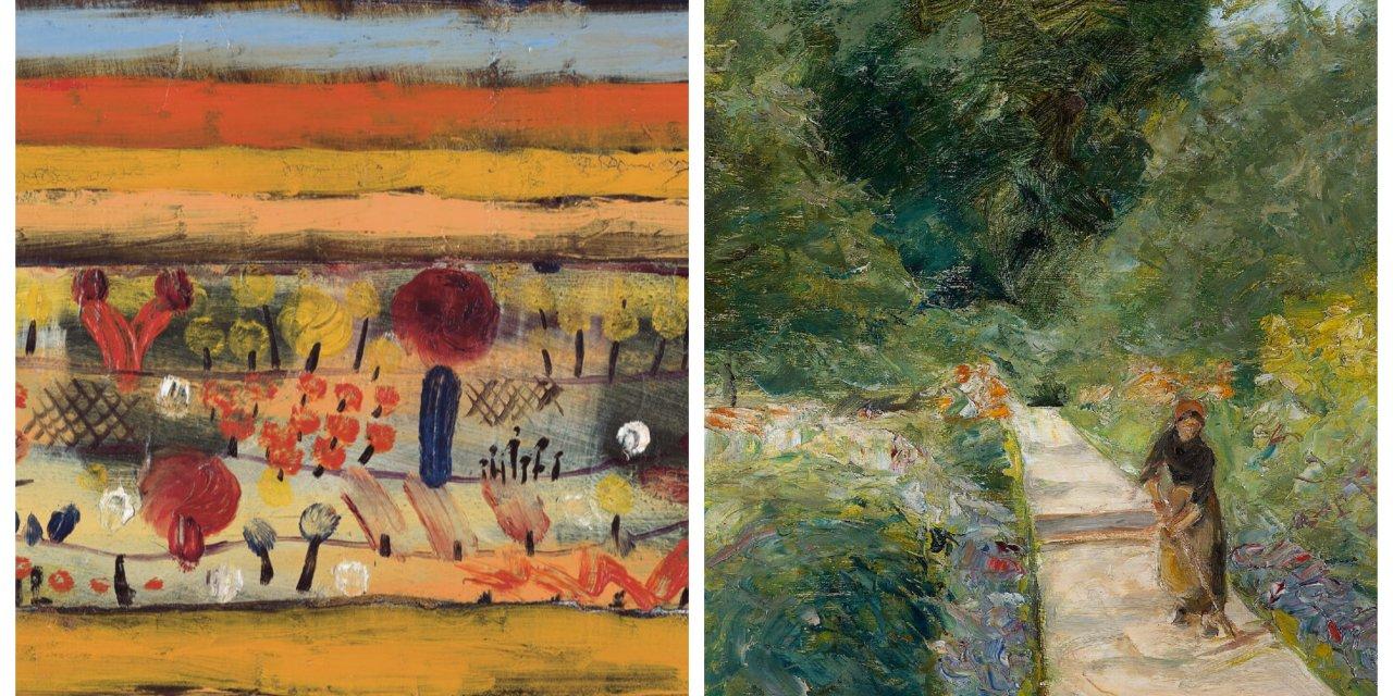 Bilder von Gärten: Paul Klee trifft Max Liebermann