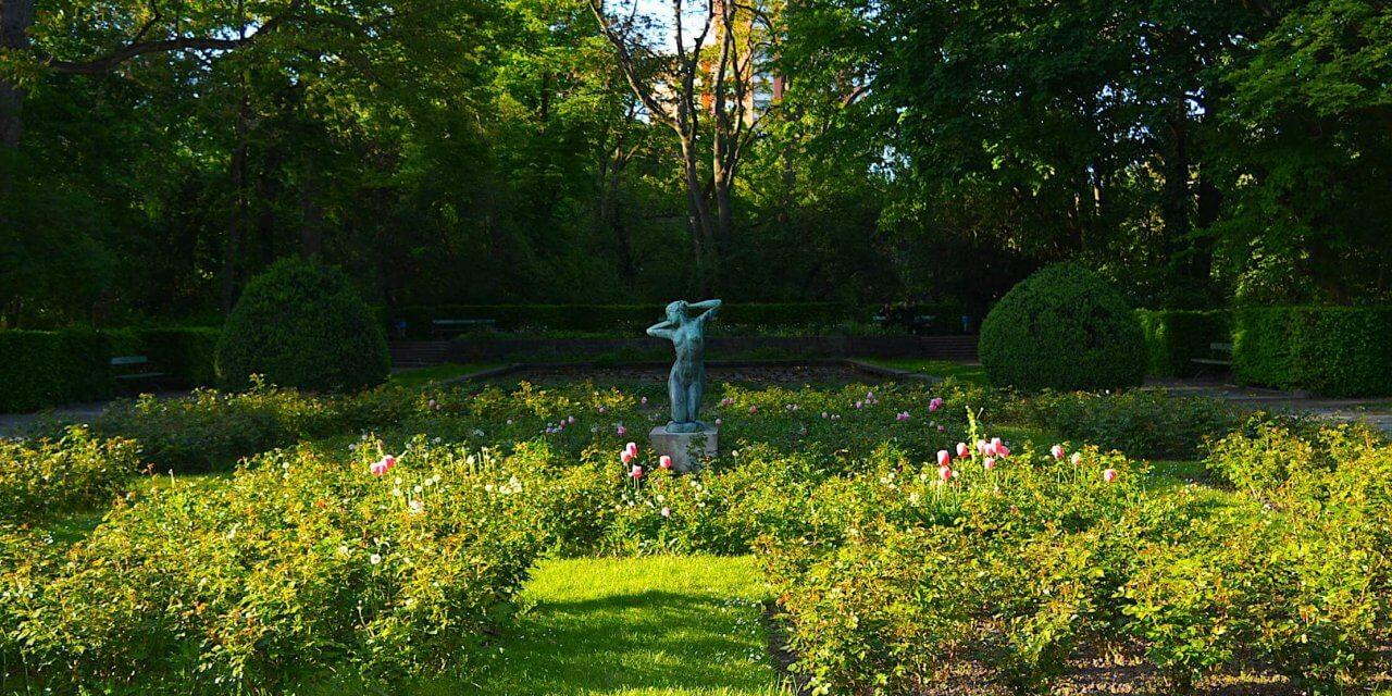 Draußen im Stadtpark Steglitz