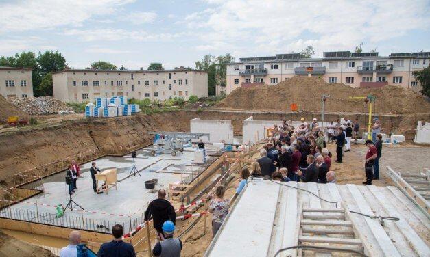 Grundsteinlegung: Märkische Scholle baut 147 Wohnungen in Lichterfelde