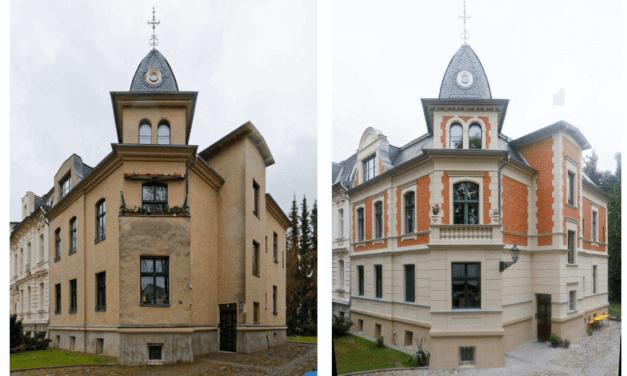 Gründerzeitfassade rekonstruiert: Jägerstraße 16 ist Denkmal des Monats Juli