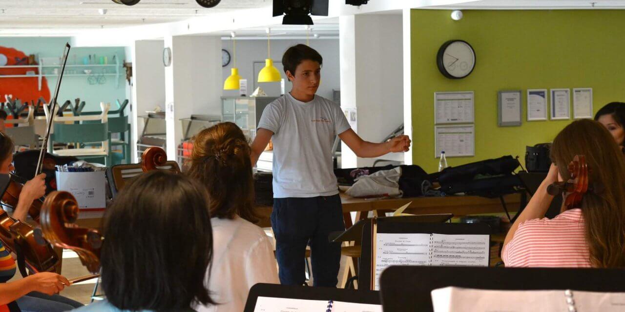 Zehlendorfer Schüler dirigieren das Orchester der Jungen Philharmonie