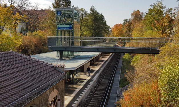 U-Bahnhof Podbielskiallee ist seit gestern barrierefrei