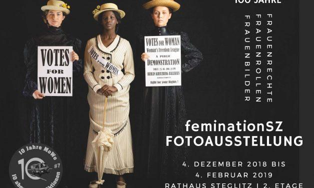 100 Jahre Frauenrechte, Frauenrollen, Frauenbilder – feminationSZ