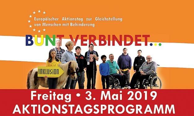 Europäischer Aktionstag zur Gleichstellung von Menschen mit Behinderung