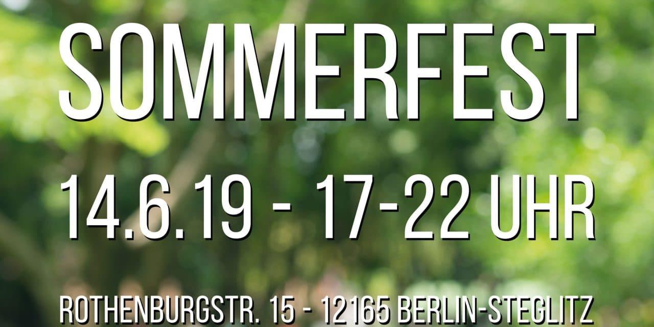 Sommerfest im Blindenhilfswerk Berlin e. V.