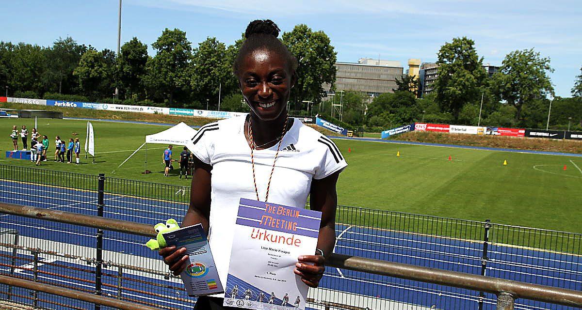 Bronzemedaillengewinnerin erfüllt Norm beim Pfingstsportfest der LG Süd Berlin