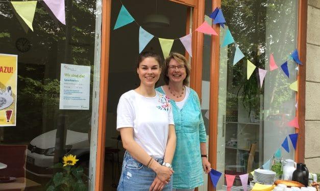 Nachbarschaftshilfe Steglitz-Zehlendorf hat zum Tag der offenen Gesellschaft eingeladen