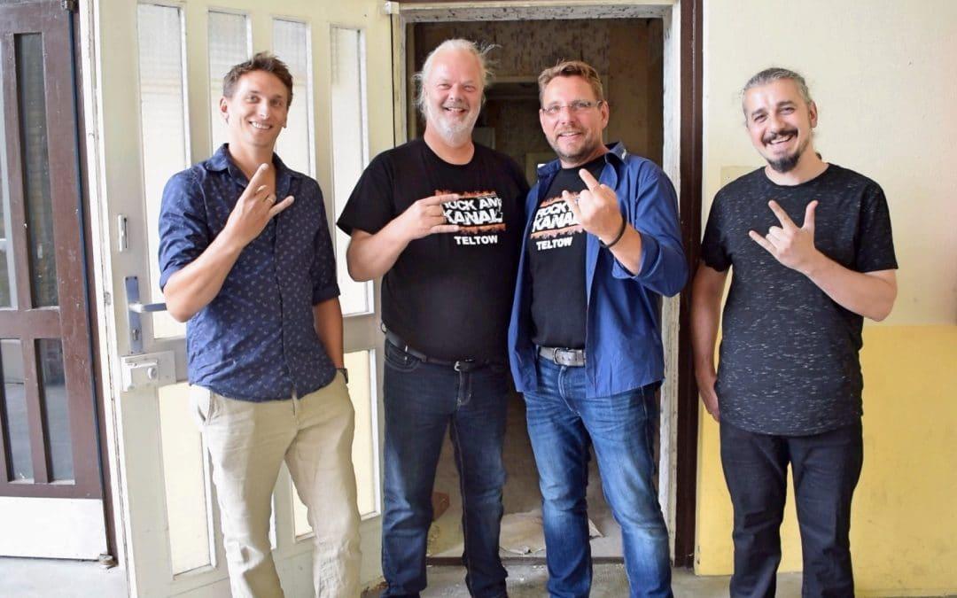 ROCK AM KANAL verdoppelt Spenden für Schüler-Musikraum