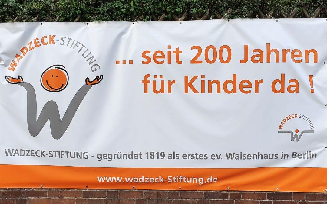 Seit 200 Jahren für Kinder da: Kinderheim Wadzeck-Stiftung feiert Jubiläum