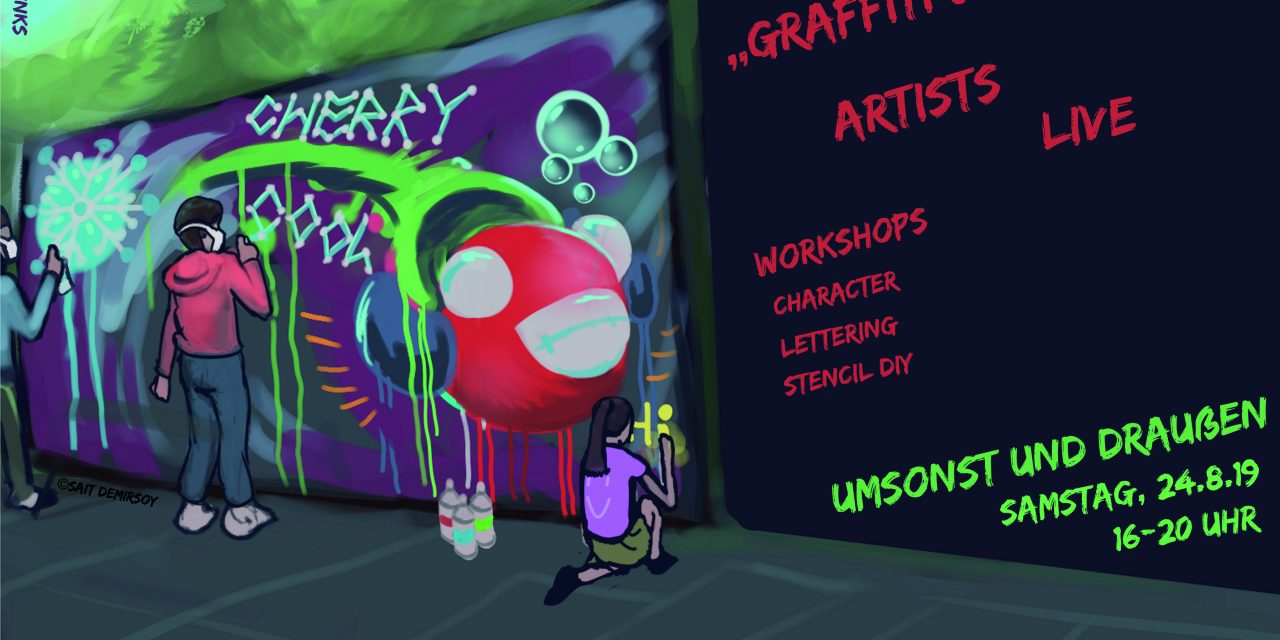 "Lankwitz wird bunt … ""Graffiti & Streetart"" live"