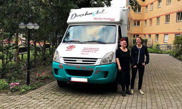 Erstmals in Deutschland – Duschmobil für Obdachlose Frauen