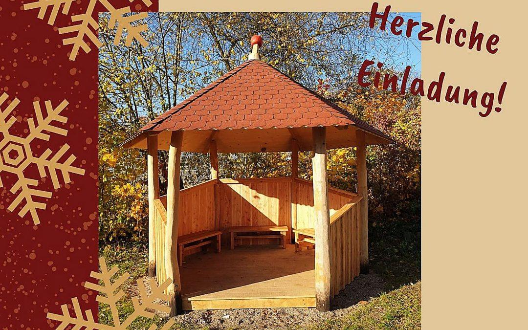 Einweihung des neuen Jugendpavillons neben der Parkour-Anlage in Zehlendorf