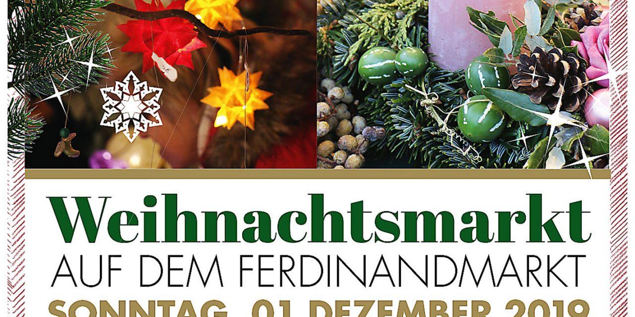 Weihnachtsmarkt auf dem Ferdinandmarkt