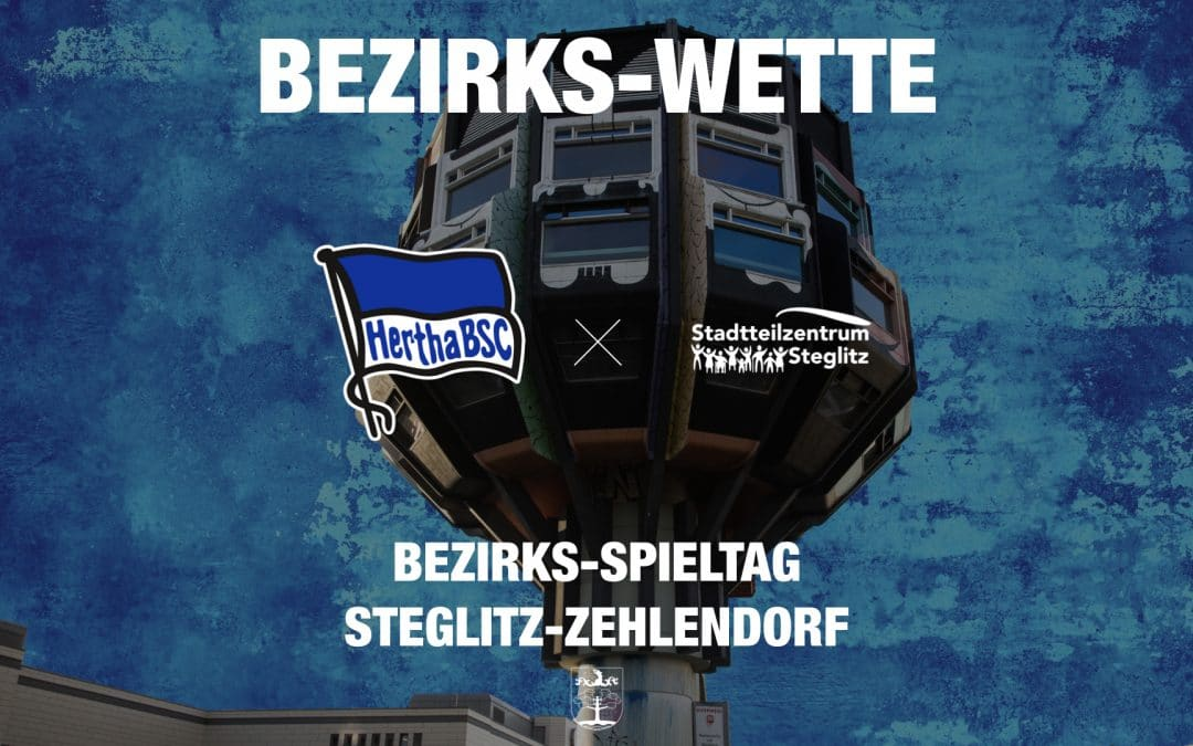 Hertha BSC wettet mit dem Stadtteilzentrum Steglitz e.V.