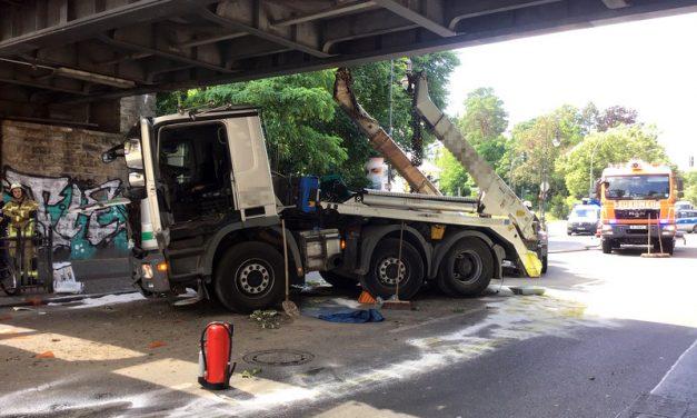 Verkehrsunfall in Zehlendorf