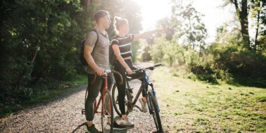 Fünf geführte Fahrradtouren durch den Berliner Südwesten