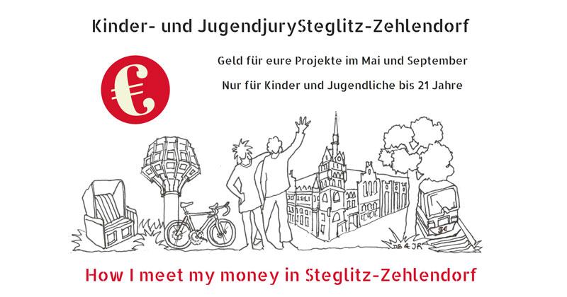 7500€ für EURE Projekte! Kinder- und Jugendjury Steglitz-Zehlendorf