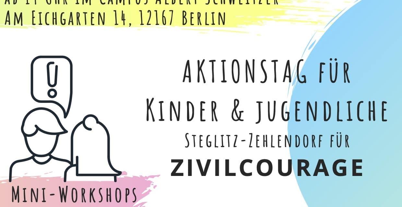 AKTIONSTAG STEGLITZ-ZEHLENDORF FÜR ZIVILCOURAGE