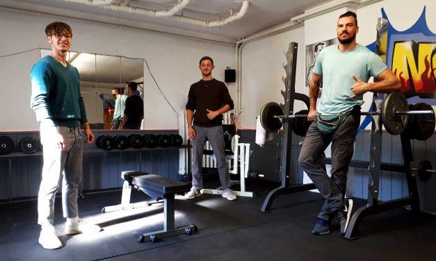 Neuer Fitnessraum für JFE Albrecht Dürer