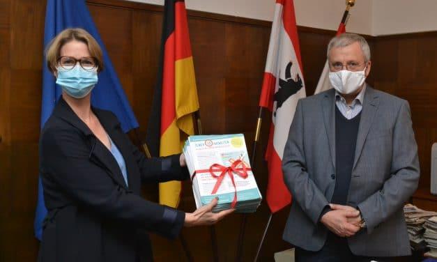 1.700 Unterschriften für Initiative SICHERER SCHULWEG GIESENSDORFER