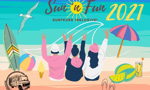 Sommer, Sonne, Surfen – Mädchen*Reise von Steglitz-Zehlendorf nach San Pepelone