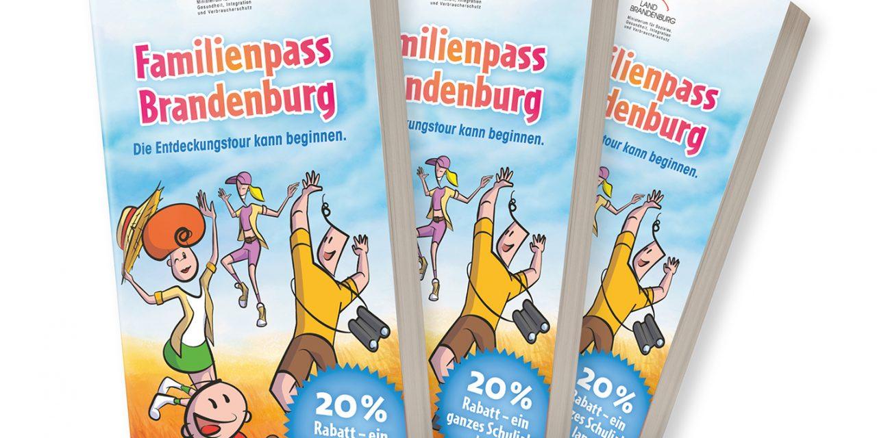 Familienpass mit 400 Angeboten in Brandenburg und Berlin