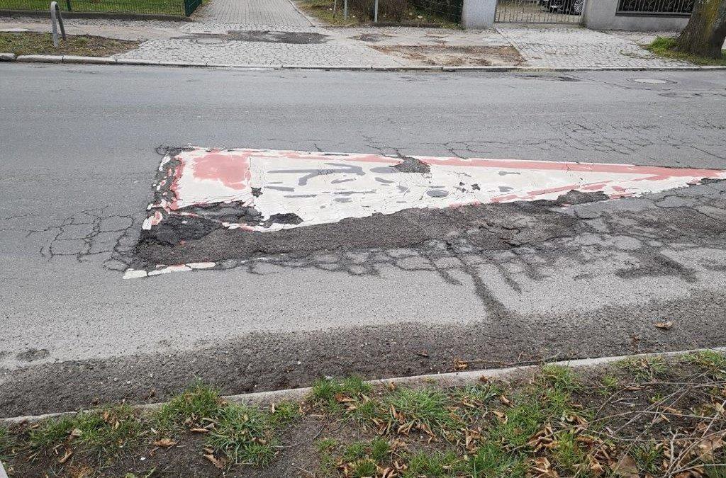 Ostpreußendamm: Instandsetzung der Fahrbahndecke