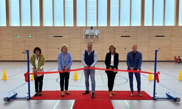 Typensporthalle an Grundschule am Stadtpark Steglitz eröffnet!