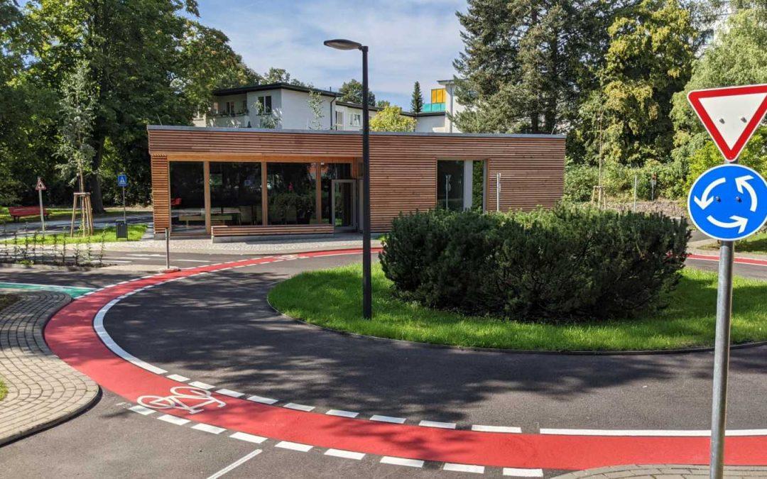 Fertigstellung des Neubaus der Jugendverkehrsschule Steglitz