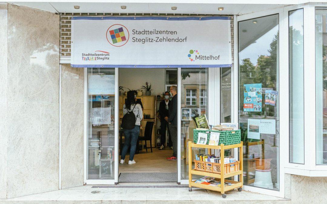 Politischer Besuch im Stadtteilzentrum SüdOst