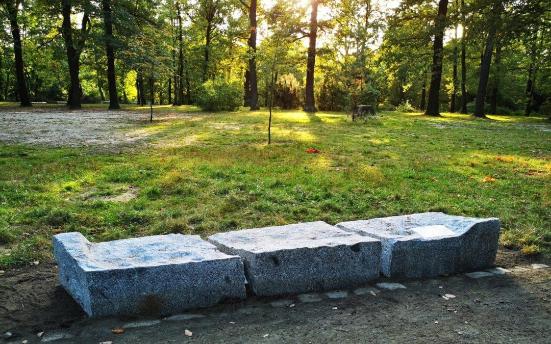 Denkmal im Schönower Park vollendet