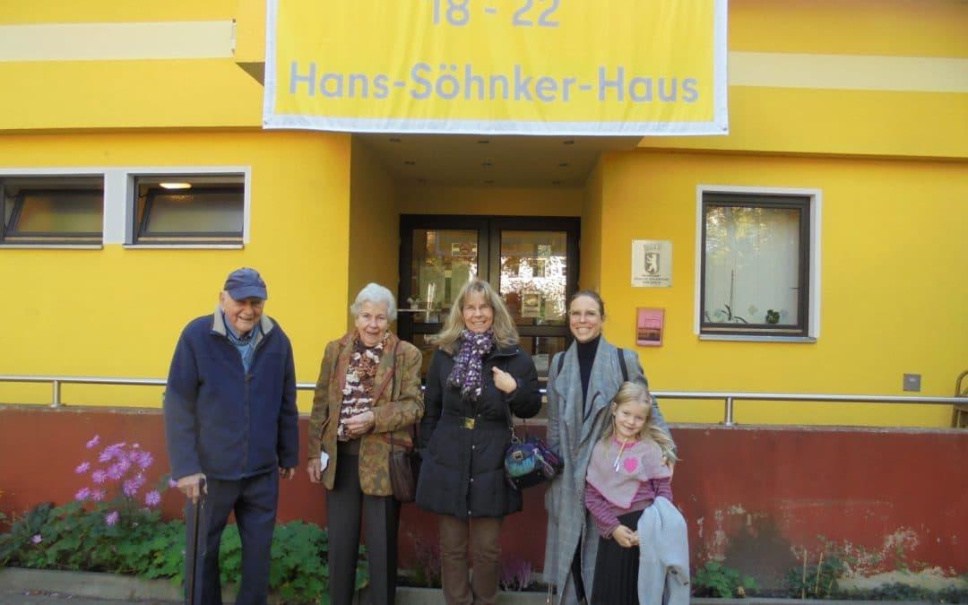 """Aus """"Club Steglitz"""" wird """"Hans-Söhnker-Haus"""""""