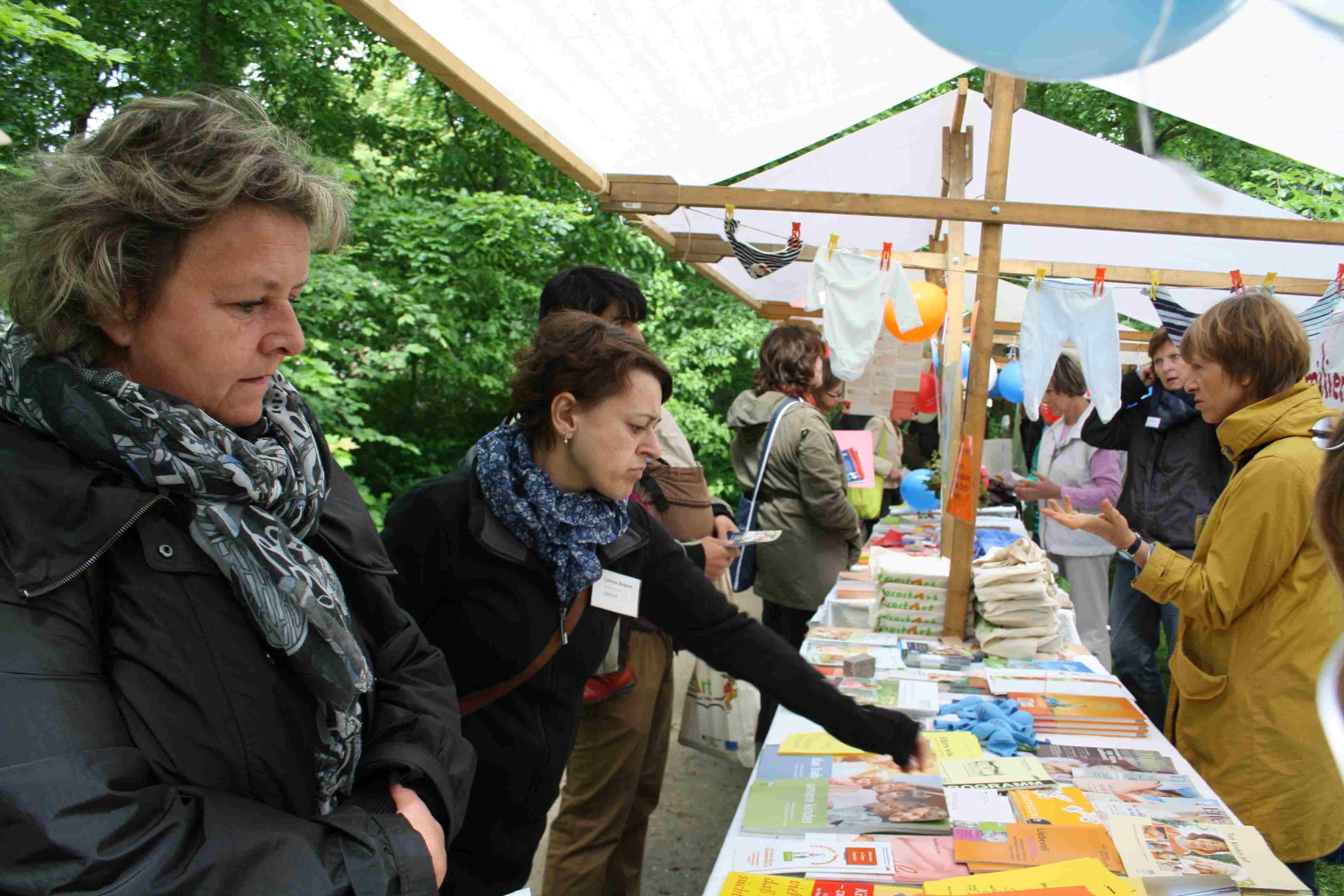 Was junge Familien brauchen: Infofest in Steglitz