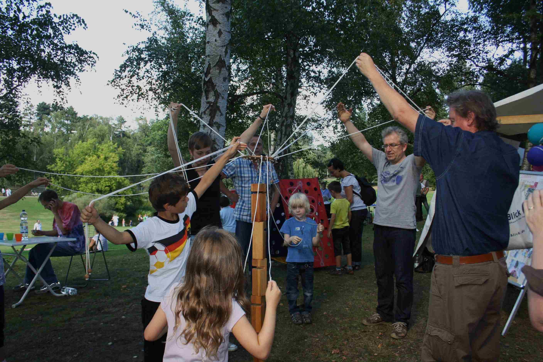 Infos und Spaß für Eltern und Kinder beim Fischtalfest
