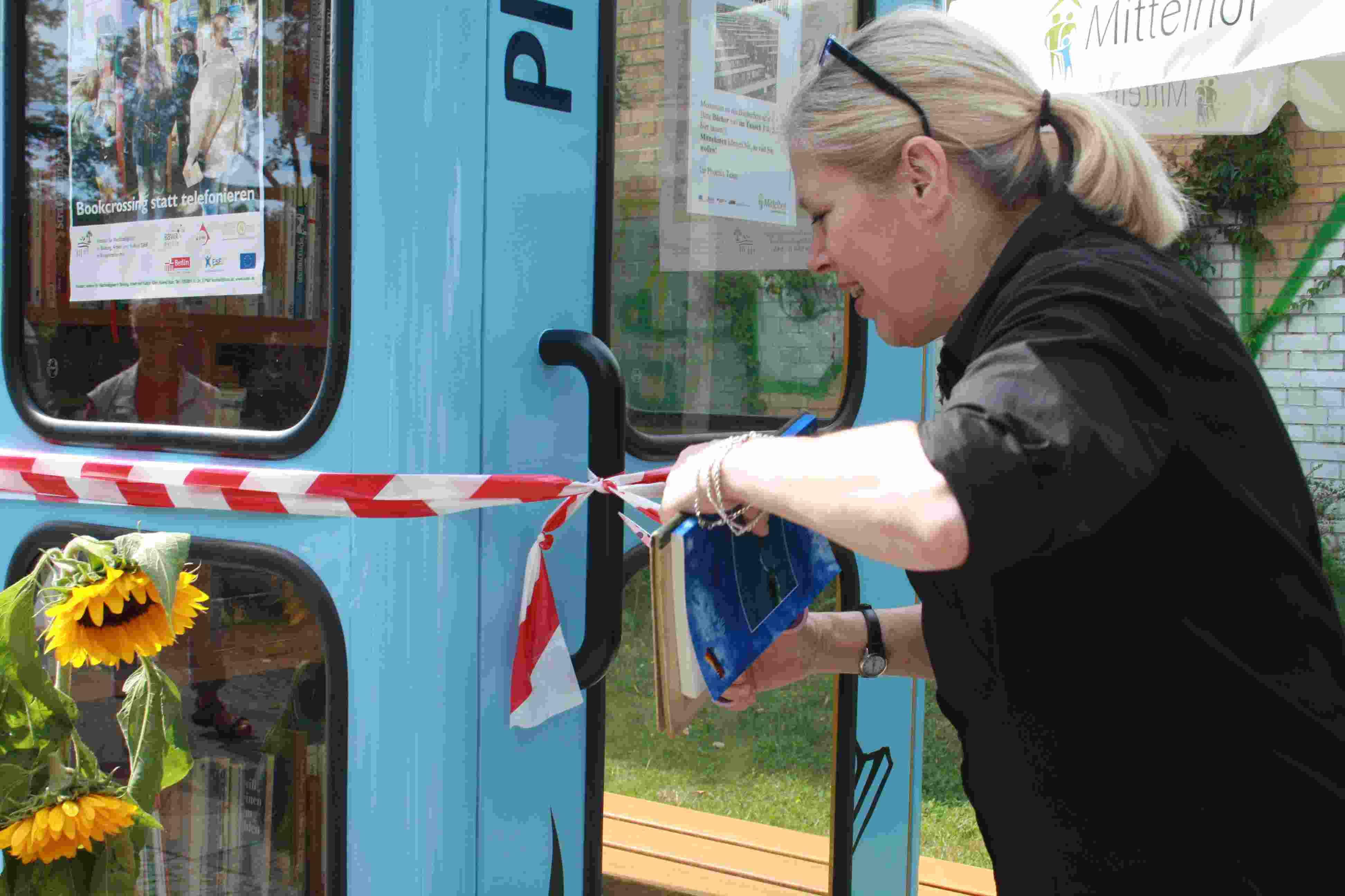 Lesen statt Quatschen: 1. Bücherboxx in Zehlendorf eröffnet