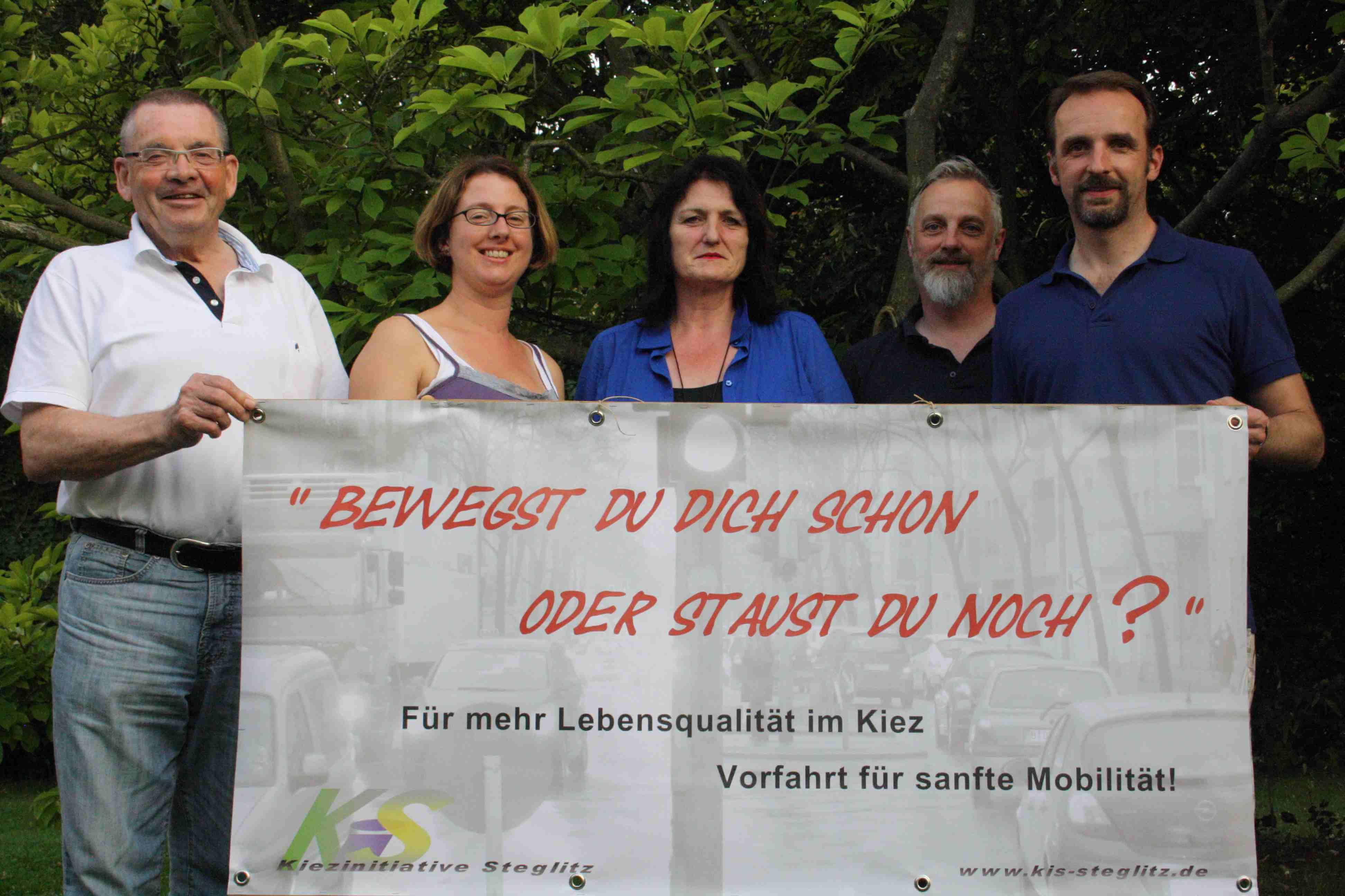 Mehr Lebensqualität, weniger Verkehr: Die Kiezinitiative Steglitz